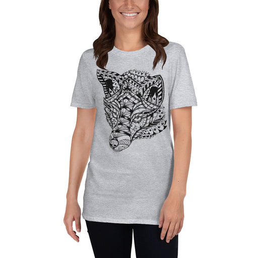 Ornate Fox T-Shirt by BXX Studio