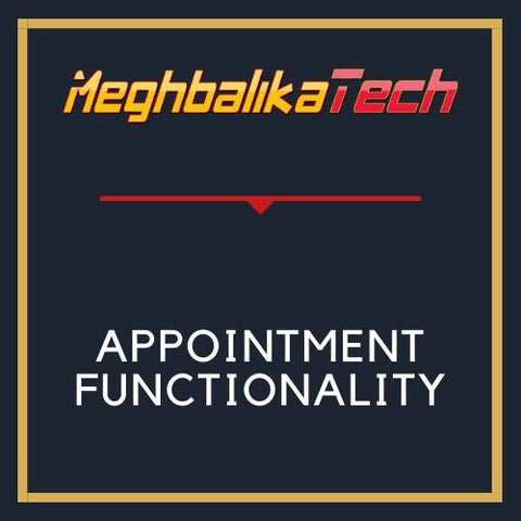 ADD APPOINTMENT FUNCTIONALITY