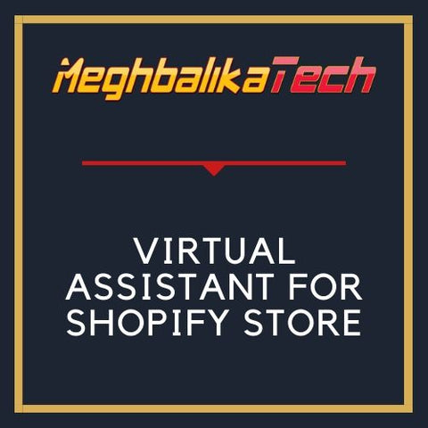 VIRTUAL ASSISTANT FOR SHOPIFY STORE