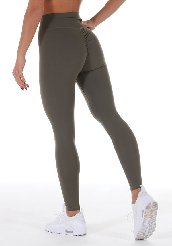 Infinoox High-waist Scrunch - Olive