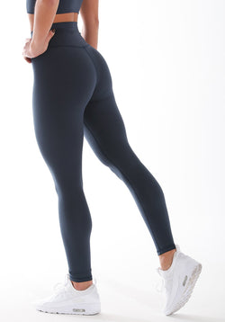 Soft Touch Leggings - Navy Blue