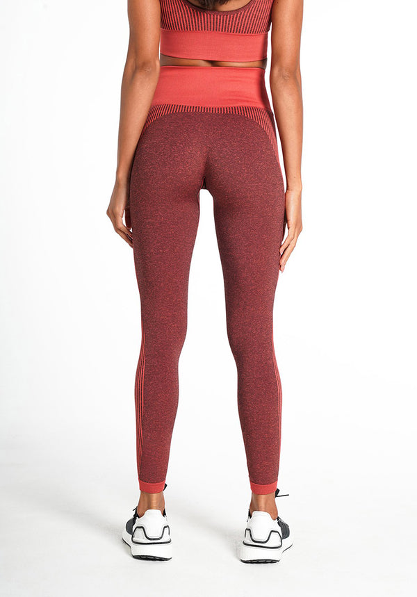 Elite Seamless - Earth Red