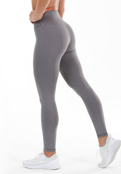 Soft Touch Leggings - Silver