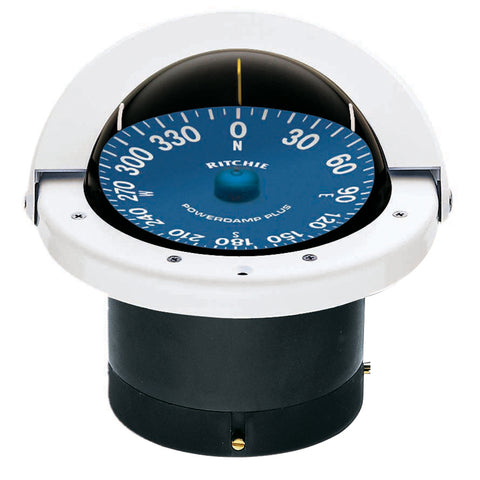 Ritchie SS-2000W SuperSport Compass - Flush Mount - White [SS-2000W]