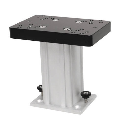 "Cannon Aluminum Fixed Base Downrigger Pedestal - 6"" [1904031]"
