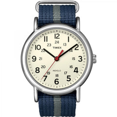 Timex Weekender Slip-Thru Watch - Navy/Grey [T2N654]