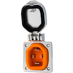 SmartPlug 50 Amp Boat  RV Inlet - Stainless Steel [BM50S]