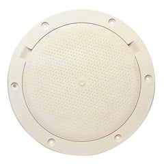 "Beckson 8"" Non-Skid Pry-Out Deck Plate - Beige [DP83-N]"