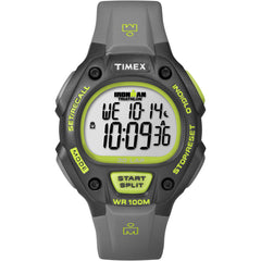 Timex Ironman 30-Lap Full-Size - Grey/Neon Green [T5K692]
