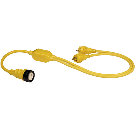 "Marinco RY504-2-30 50A Female to 2-30A Male Reverse ""Y"" Cable [RY504-2-30]"