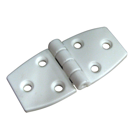 "Whitecap Door Hinge - White Nylon - 1-1/2"" x 3"" [S-3031]"
