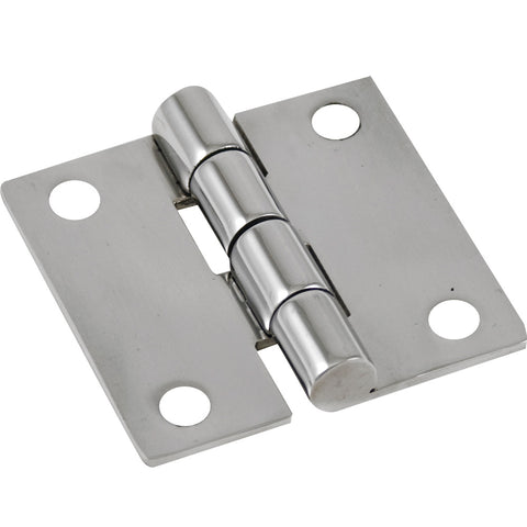 "Whitecap Butt Hinge Reversed - 304 Stainless Steel - 2"" x 2"" [S-3422R]"