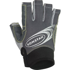 Ronstan Sticky Race Gloves w/Cut Fingers - Grey - X-Small [RF4880XS]
