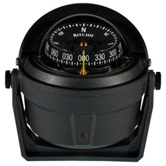 Ritchie B-81-WM Voyager Bracket Mount Compass - Wheelmark Approved f/Lifeboat & Rescue Boat Use [B-81-WM]