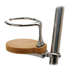Edson Clamp-On Drink Holder - Single - Teak [878TK-1-125]