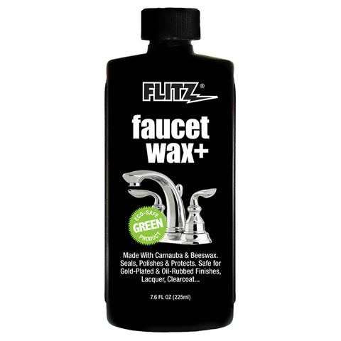 Flitz Faucet Waxx Plus - 7.6oz Bottle [PW 02685]
