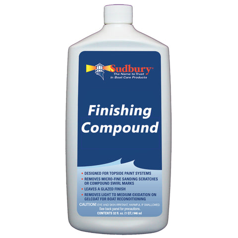 Sudbury Finishing Compound - 32oz Liquid [446]