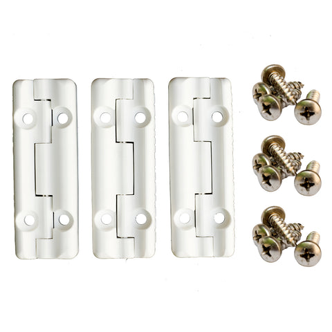 Cooler Shield Replacement Hinge For Igloo Coolers - 3 Pack [CA76311]