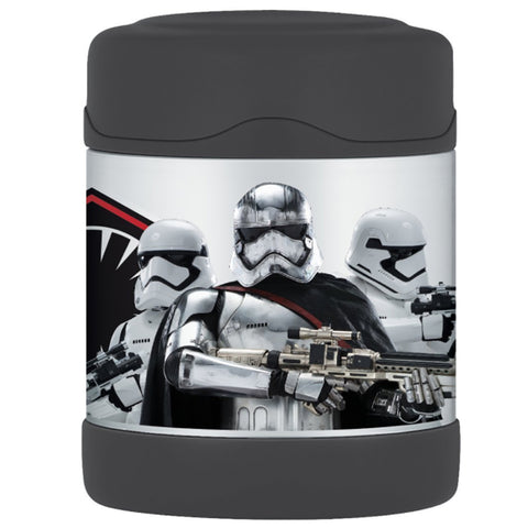 Thermos FUNtainer Stainless Steel, Vacuum Insulated Food Jar - Star Wars - 10 oz. [F3005SW6]