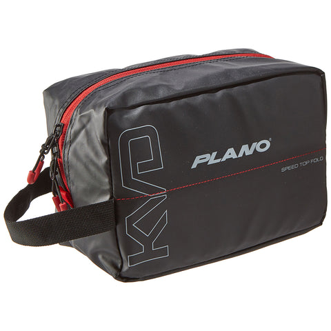 Plano KVD Wormfile Speedbag Small - Holds 20 Packs - Black/Grey/Red [PLAB11700]