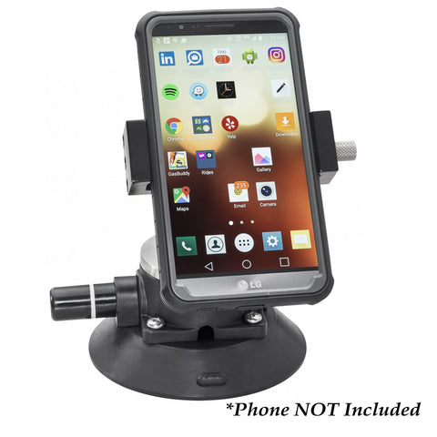 Whitecap Mobile Device Holder w/Suction Cup Mount [S-1810C]