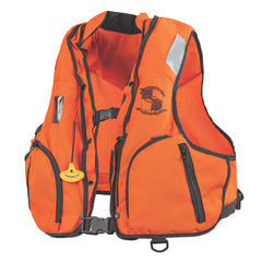 Stearns Manual Inflatable Vest w/Nomex Fabric - Orange/Black - S/M [3000002922]
