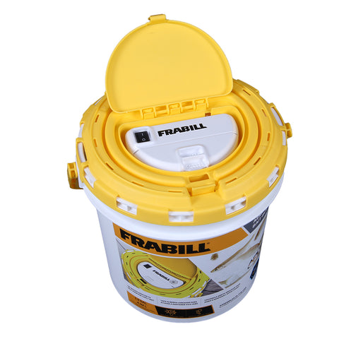 Frabill Dual Fish Bait Bucket w/Aerator Built-In [4825]