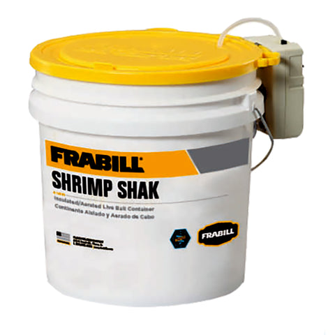 Frabill Shrimp Shak Bait Holder - 4.25 Gallons w/Aerator [14261]