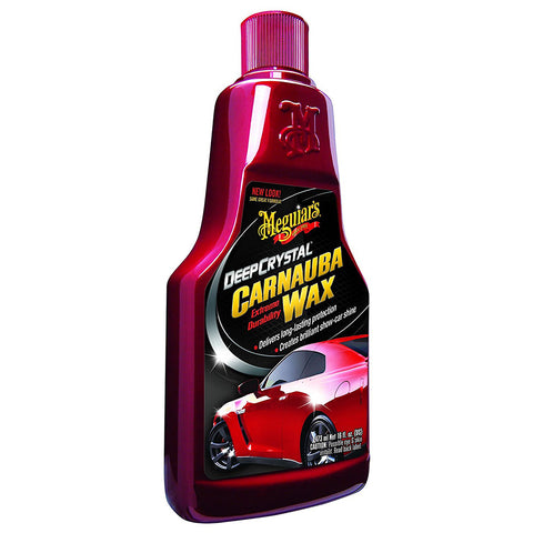 Meguiars Deep Crystal Carnauba Wax - 16oz *Case of 6* [A2216CASE]