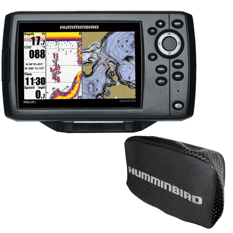 Humminbird HELIX 5 Chirp GPS G2 Combo w/Free Cover [410210-1COVER]