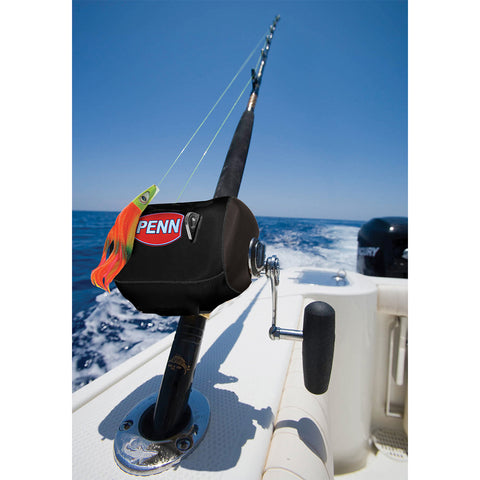 PENN Neoprene Conventional Reel Cover - MEDRC - Black [1178862]