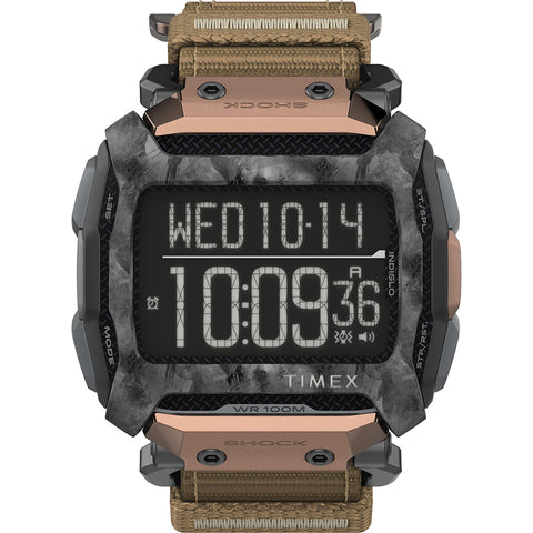Timex Command 54mm - Black Case w/Black Fastwrap  Copper Accent [TW5M28600JV]