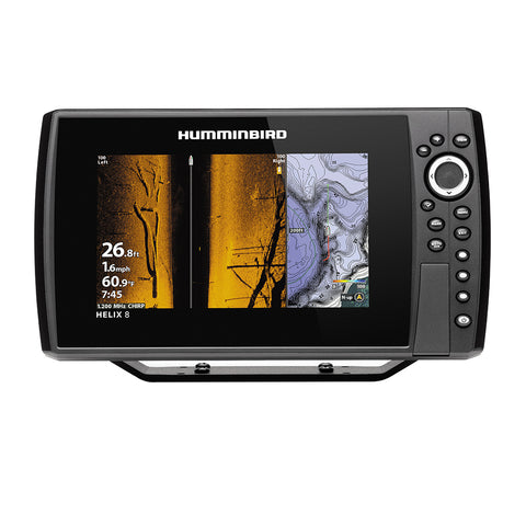 Humminbird HELIX 8 CHIRP MEGA SI Fishfinder/GPS Combo G3N *Display Only [410830-1CHO]