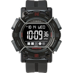 Timex Expedition Digital Face 47mm - Black Screen w/Black Resin Strap [TW4B17900JV]