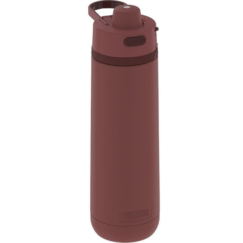 Thermos Guardian Collection Stainless Steel Hydration Bottle 18 Hours Cold - 24oz - Rosewood Red [TS4319DR4]
