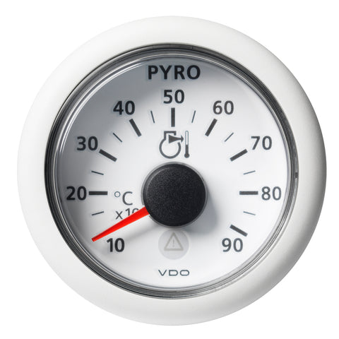 "Veratron 52 MM (2-1/16"") ViewLine Pyrometer - 100 to 900C - White Dial  Bezel [A2C59512333]"