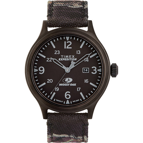 Timex x Mossy Oak Standard - XL 43mm Case - Dark Camouflage [TW2U21100SO]