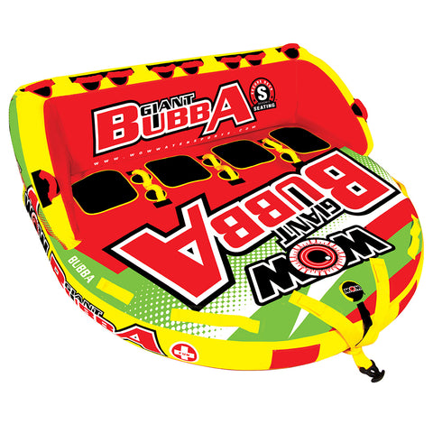 WOW Watersports Giant Bubba HI-VIS 4P Towable - 4 Person [17-1070]
