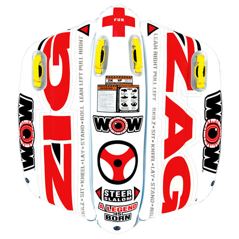 WOW Watersports Zig Zag Towable - 1 Person [12-1050]