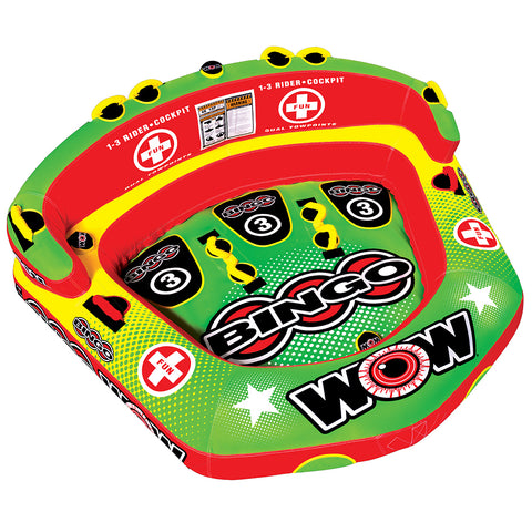 WOW Watersports Bingo 3 Towable - 3 Person [14-1070]