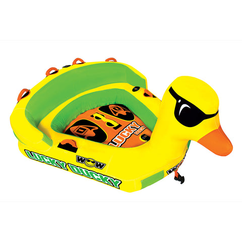 WOW Watersports Lucky Ducky Towable - 2 Person [19-1040]