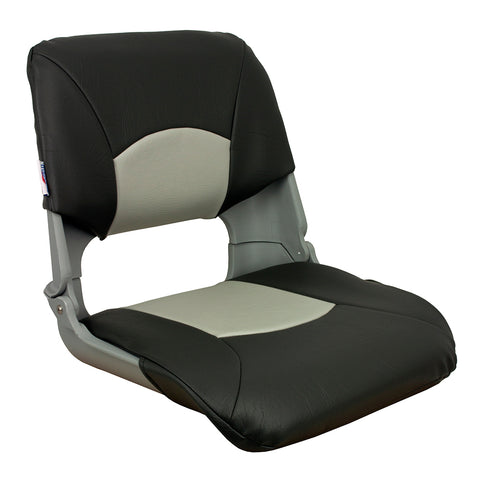 Springfield Skipper Standard Folding Seat - Grey/Charcoal [1061017]