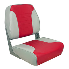 Springfield Economy Multi-Color Folding Seat - Grey/Red [1040655]
