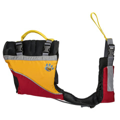 MTI Underdog Dog Life Jacket - Red/Mango - Medium [MV502A-M-831]