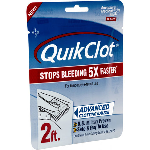 "Adventure Medical QuickClot Gauze 3"" x 2 [5020-0025]"