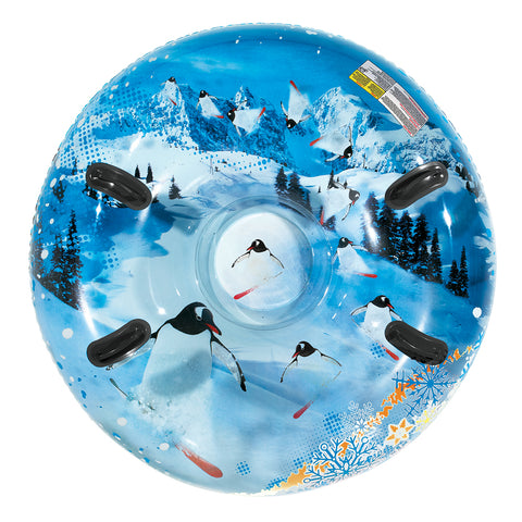"Aqua Leisure 48"" Pipeline Sno Mega 2-Person Sno-Tube - Air Penguin [AW-4452TWM]"