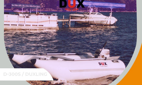 "DUX, ""DUXLING"", Inflatable Motor Yacht Tender or Dinghy"