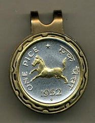 "India 1 pice ""Horse"" (nickel size)"