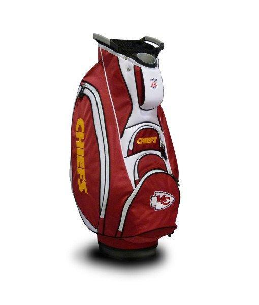 057f3880 NFL Kansas City Chiefs Victory Golf Cart Bag