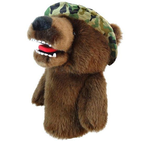 Military Bear Driver Head Cover